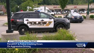 Aggressive driving crackdown on Route 22 in Murrysville