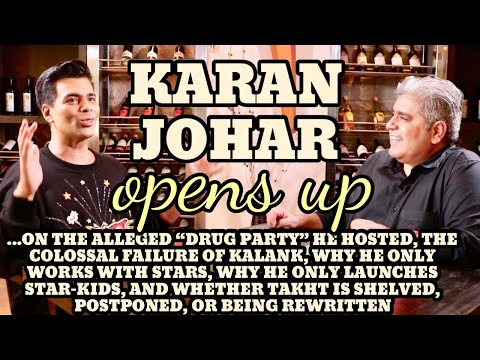 Karan Johar interview with Rajeev Masand I Takht I Kalank I Drug party