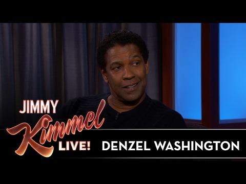 Denzel Washington Stole Shrimp from the Oscars
