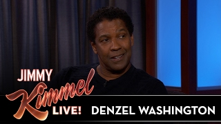 Denzel Washington Stole Shrimp from the Oscars