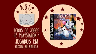 102 Dalmatians: Puppies To The Rescue  - Gameplay Comentado Em Português [abc Do Ps1]