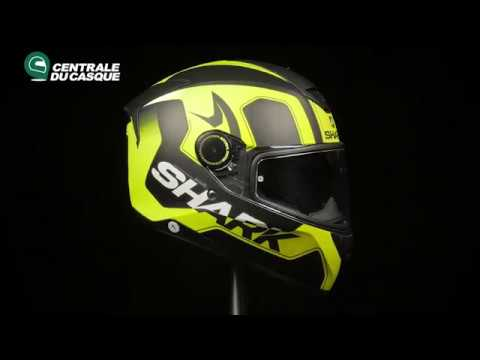 360 Shark Skwal Trion Mat Yellow Kyy Centrale Du Casquecom Youtube