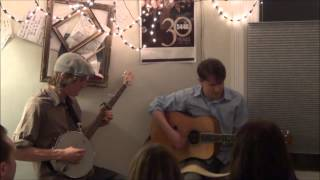 Jon Middleton and Dave Lang at Victoria House Concert B: Crawdad Hole (Doc Watson cover)