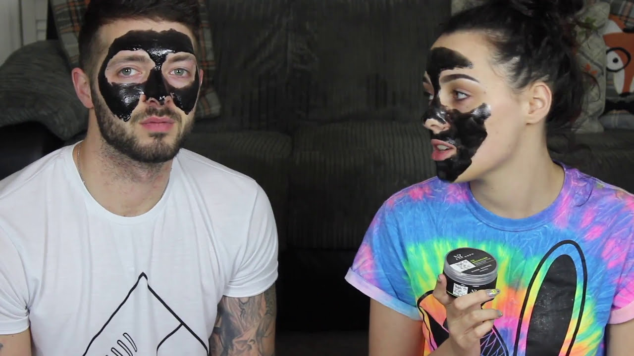 BLACK PEEL OFF FACE MASK FROM HELL | #LS4L