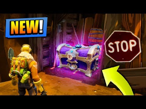 NEW SECRET Chests *FOUND* in Fortnite: Battle Royale!