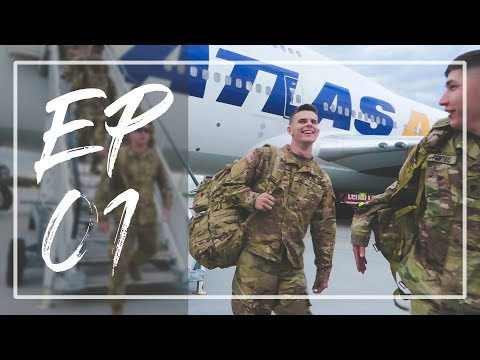 ARMY DEPLOYMENT: Episode 01. Traveling to Europe | ThomasVlogs
