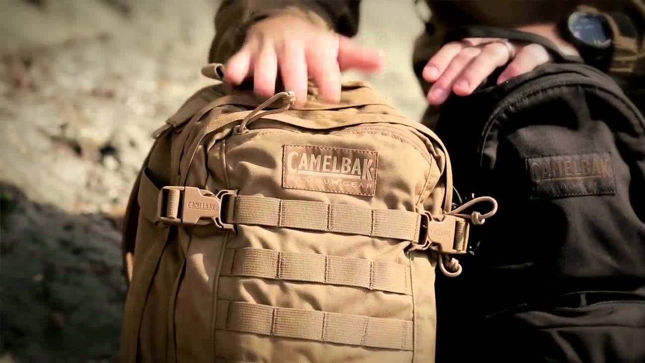 CamelBak MULE and HAWG Military Hydration Packs - YouTube