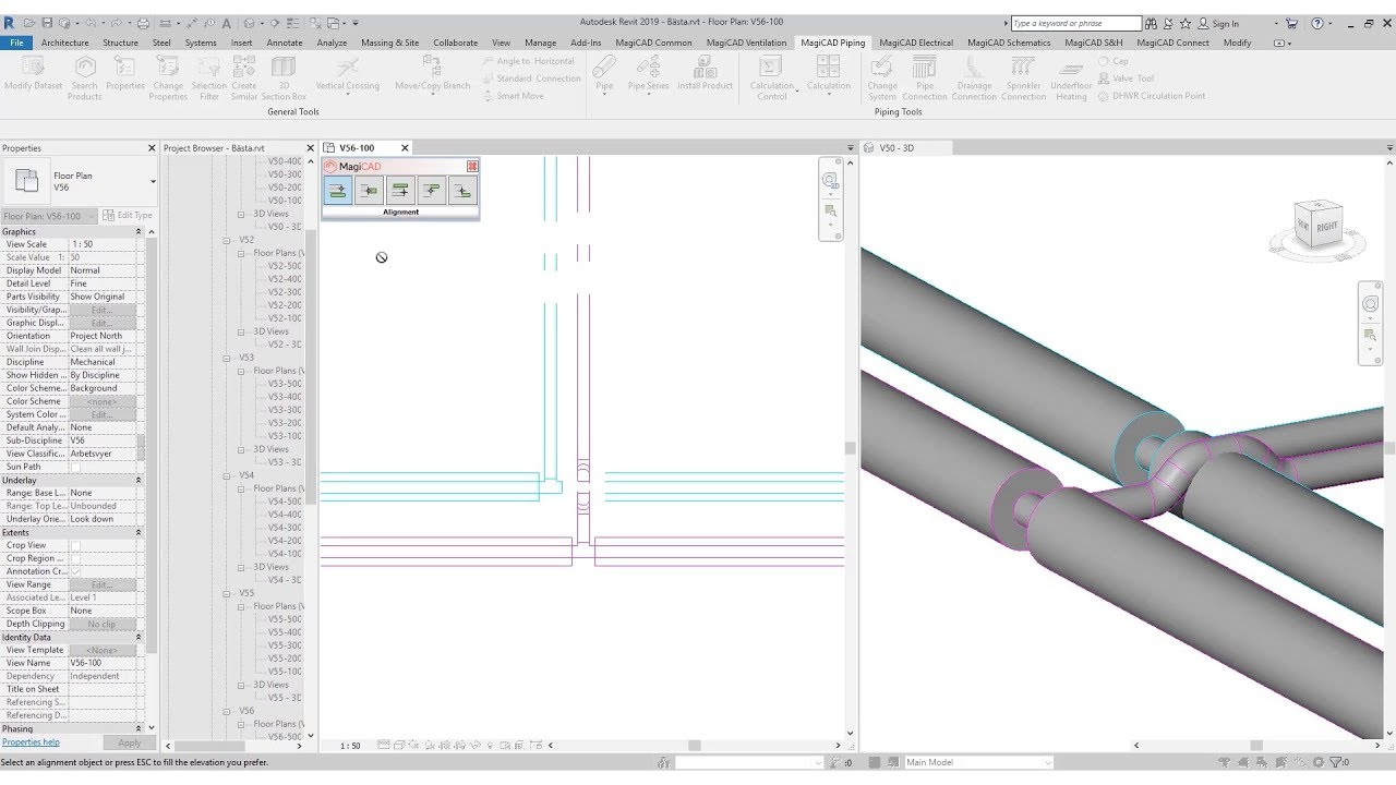 Magicad Piping For Revit And Autocad