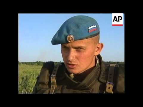 RUSSIA: PARATROOPERS PREPARE TO FLY TO KOSOVO