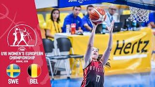 Sweden v Belgium - Full Game - FIBA U16 Women's European Championship 2019