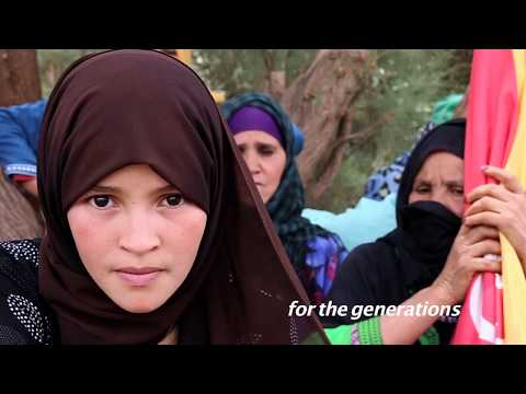 Morocco: Imider resist and send a letter of solidarity to Rif -- Timnadin N Rif (English Subtitles)