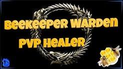 ESO: The Beekeeper Warden PvP Healer! (MagDen) - Harrowstorm 2020