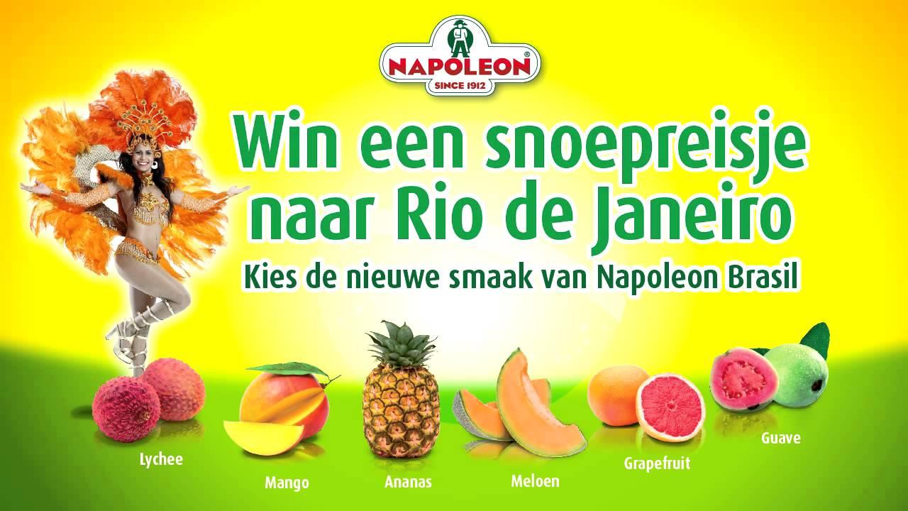 napoleon snoep smaken
