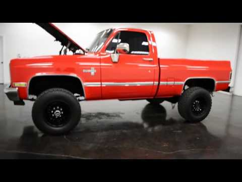 1987 Chevrolet Silverado K10 SWB 4X4 Pickup LS V8 - YouTube