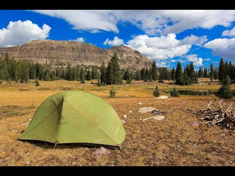 MSR Hubba Tent - Young Man Spends 3 Years Living in His Tent