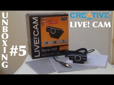 Unboxing [GREEK] #5: Creative Technology Ltd LIVE! CAM