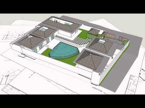 3D Building Construction by Villa Bali Group