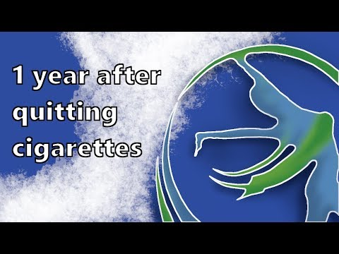 1 year after quitting cigarettes - testimonial