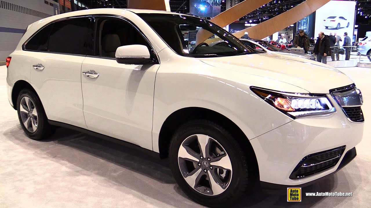 2016 Acura Mdx Sh Awd Exterior And Interior Walkaround