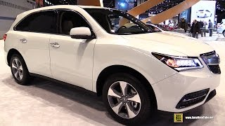 2016 Acura MDX SH-AWD - Exterior and Interior Walkaround - 2015 Chicago Auto Show