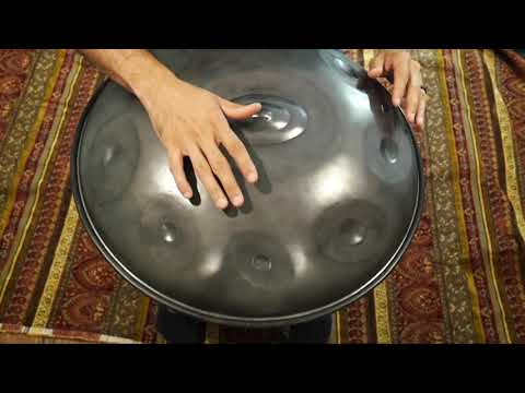 Saraz Handpan C Minor 12 Immediately available for sale