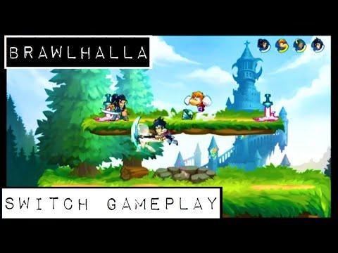 Brawlhalla - Nintendo Switch - Docked Gameplay
