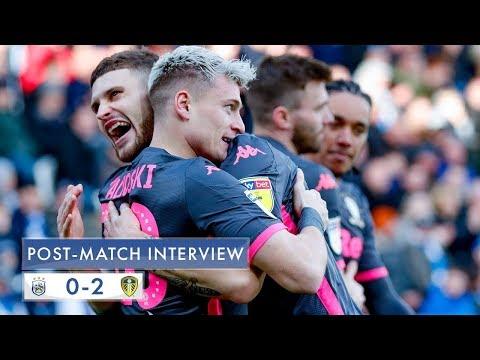 Post-match interview   Gjanni Alioski   Huddersfield Town 0-2 Leeds United