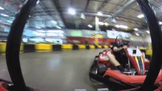 Grant Langston - Karting Driving Tips at Pole Position Raceway (How to Go Faster)