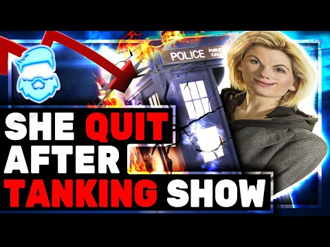 Epic Fail! Female Dr Who QUITS After Ratings TANK! Poor Writing & SJW Nonsense! Jodie Whittaker Gone