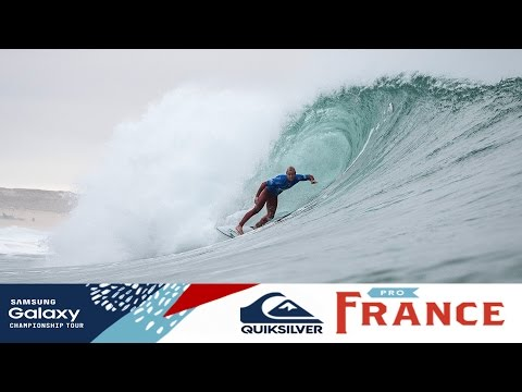 Warm Up for the Quiksilver Pro France
