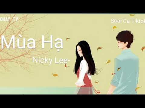 #夏天 #nickylee [Vietsub + Kara] Nicky Lee - 夏天 | Mùa Hạ | Xia Tian (Nhạc: Jay Chou)