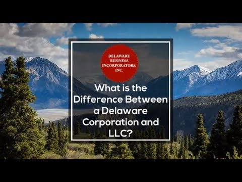 What is the Difference Between a Delaware Corporation and LLC | Delaware Business Incorporators Inc.
