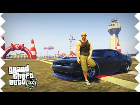 FAST & FURIOUS 8! Driften mit VIN DIESEL (Dominic Toretto) GTA 5 Mods | WeissStream #66