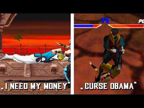 Top 10 Mortal Kombat Gibberish Quotes!
