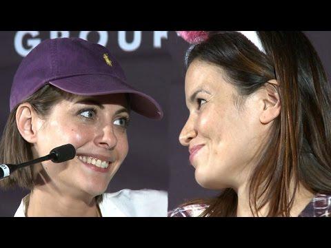 Willa Holland & Katrina Law Get Flirty At Comic Con