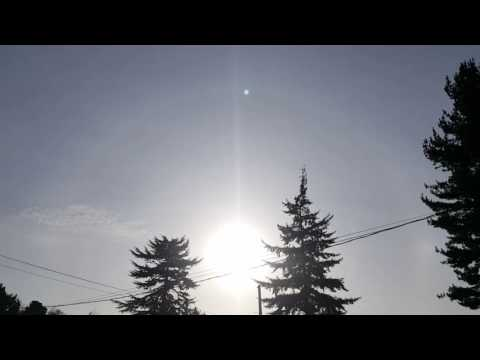 Seattle sky sun shine energy recharged project experiment (video by Lich Pham)