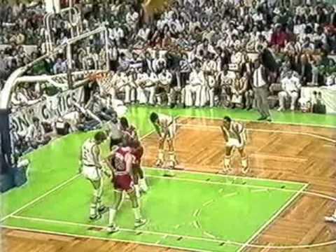 MICHAEL JORDAN: 42 pts vs Boston Celtics (1987 Playoffs)