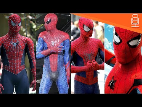 Spider-Man Live Action Suits Compared &...