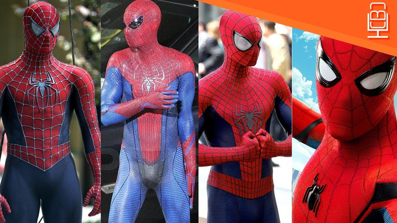 Spider Man 3d Live Wallpaper Pc Spider Man Live Action Suits Compared Amp Breakdown Youtube