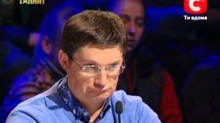 Анастасия Соколова «Україна має талант-5» Кастинг в Донецке