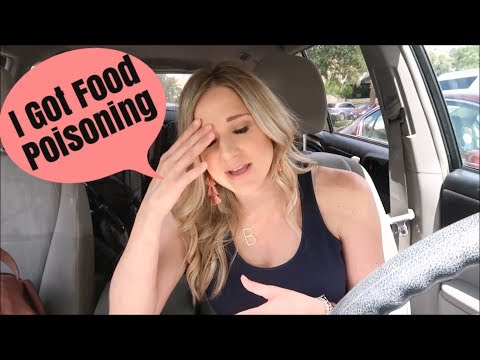 I GOT FOOD POISONING   A DAY IN THE LIFE VLOG   BRITTANI BOREN LEACH