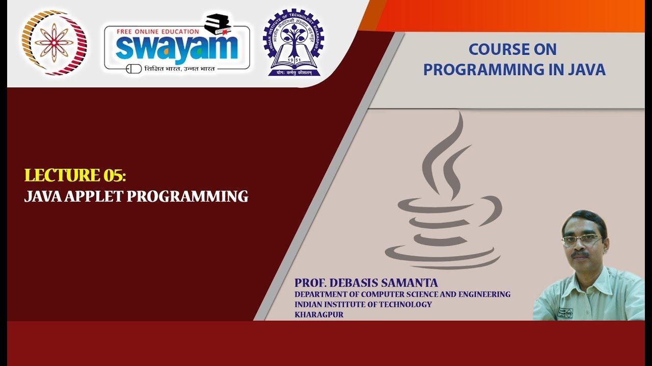 Download Lecture 05: Java Applet  Programming