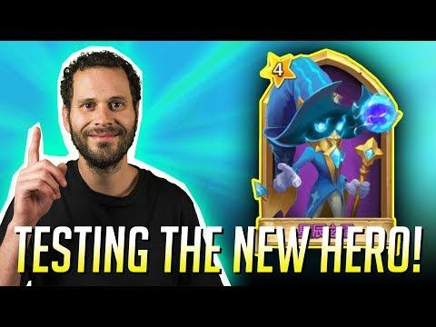 New Hero Spirit Mage 2 GAME PLAY New Update Castle Clash