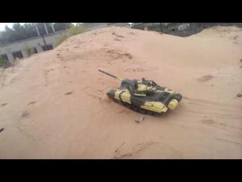 Радиоуправляемый танк Т-72 от DeAGOSTINI