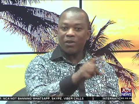 Telecommunication in Ghana - AM Talk on Joy News (12-5-16)