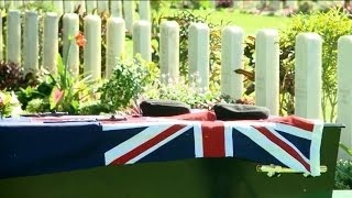 Z Special Unit soldiers laid to rest in Papua New Guinea