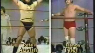 Debut of Randy Tyler vs Pete Austin with Danny Davis (6-23-79) Classic Memphis Wrestling