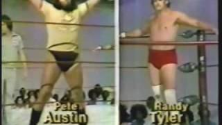 Debut of Randy Tyler vs Pete Austin with Danny Davis (6-23-79) Classic Memphis Wrestling