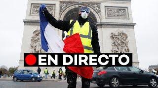 🔴 EN DIRECTO Violentas protestas de los 'chalecos amarillos' en París