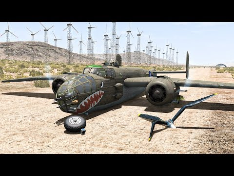 Airplane Crashes #11 - BeamNG DRIVE | SmashChan